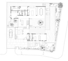 Image 12 of 15 from gallery of The Extended House / Formwerkz Architects. Ground Floor Plan