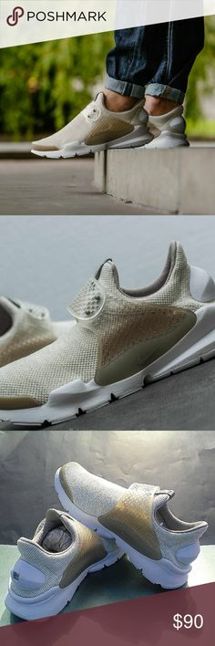 Mens Nike Sock Dart SE (Size 12) •Brand new in box •100% authentic •Excellent condition •Size: 12 men  •Colorway: Sail/ Cobblestone •Ships doubled boxed •Secured packaging •Same day/next day shipping Nike Shoes Sneakers