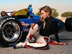 Carmen Jorda Lotus F1 Driver
