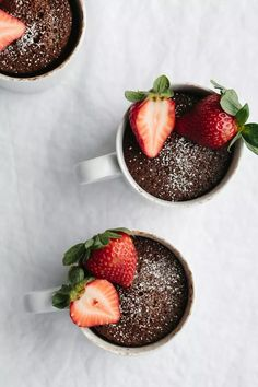 An easy, delicious and healthy chocolate mug cake that's also gluten-free, dairy-free and paleo. I think it's the best chocolate mug cake recipe out there. Chocolate Paleo, Best Chocolate Mug Cake Recipe, Moist Chocolate Mug Cake, Chocolate Mug Cakes, Chocolate Recipes, Baking Chocolate, Delicious Chocolate, Chocolate Chips, Hot Chocolate