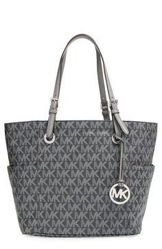 MICHAEL Michael Kors 'Jet Set Signature' Tote - fashion handbags sale, shopping for handbags, unique handbags