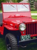 Mike Gibson's 1947 Willys CJ-2A http://blog.kaiserwillys.com/#