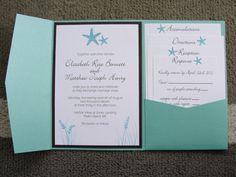 Design idea for our invitations.