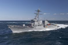 DDG-51 Destroyer Cost per destroyer: $1.3 billion They were designed as multi-role destroyers to fit the AAW (Anti-Aircraft Warfare) role with their powerful Aegis radar and surface-to-air missiles; ASW (Anti-submarine warfare) role, with their towed sonar array, anti-submarine rockets, and ASW helicopter; ASUW (Anti-surface warfare) role with their Harpoon (missile) launcher; and strategic land strike role with their Tomahawk (missile)s. Some versions of the class no longer have the towed…
