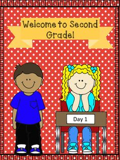 """Several activities for your Second Grade students on those first few days of school. This is a great way to get to know your students and start your year off right!Included are the following:-Page with a large 2 for the student to color and decorate (this can be used as the cover page if you are making this into a booklet).-Portrait page-""""What I did this summer"""", drawing and writing page-4 square page, school and friends questions, drawing and writing page-Story page, """"Write about 2…"""
