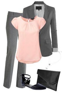 Look nice at work, without all the effort and without emptying the wallet, visit - Work Outfits Women Business Casual Outfits, Business Attire, Office Outfits, Office Attire, Casual Office, Casual Work Attire, Office Chic, Office Style, Office Wear