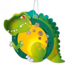 Laternen-Set T-Rex - idee. Online-Shop Laterne basteln, DIY, selbst gemacht, Inspiration, Kinderlaterne