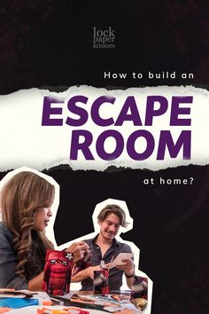 Running out of ideas? Why not try building an escape room at home? It's easy. Download the game! Escape Rooms Near Me, Escape Room For Kids, Classroom Activities, It's Easy, Room Ideas, Running, Adventure, Game, Building