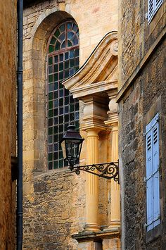 Sarlat, France. Another pinner says: so far it is my favorite french city next to paris. the beautiful yellow buildings and the small alleys, etc. just amazing.
