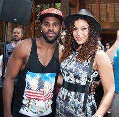 naijamilk.com: Summer Lovin' Jason Durelo and Jodin Sparks Girlfr...