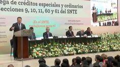El SNTE gestiona miles de créditos del ISSSTE para sus agremiados