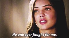 """""""So I fight for myself. I taught myself to fight better than anyone else."""" Andrea"""
