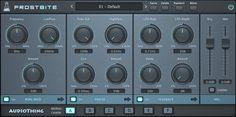 AudioThing Frostbite (Ring Modulator, Feedback, Freeze Plugin) GUI