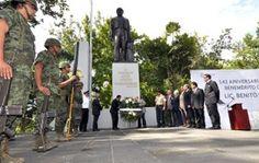 Preside Secretario del Trabajo conmemoración del 142 Aniversario Luctuoso de Benito Juárez | Veracruzanos.info