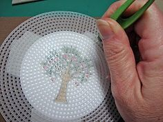 I love this idea! - Faux stitching on cards.  I've done this for a long time..