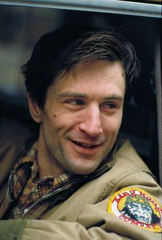 "Robert De Niro as Travis Bickle, ""Taxi Driver/ Taksi Şoförü"" 1976"