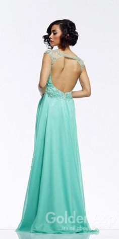 Riva Designs R9779 Prom Dress, from Golden Asp's selection of open back #prom dresses. Visit our #dress shop in Bensalem, Pennsylvania, or shop for open back dresses online at http://www.goldenaspprom.com/shop/dresses/style/open-back-prom-dresses #prom2015 #prom2k15