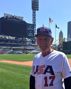 """Pittsburgh Pirates on Twitter 20160415: """"Congrats to Jim Leyland on being named manager for Team USA for the 2017 #WBC!"""""""