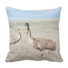 Customise Product two curious emu's