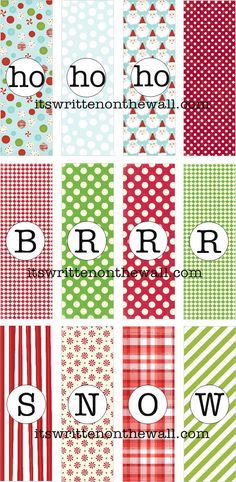 Freebies Christmas Hershey Nugget Treat Tray Printables - several different designs - bjl Christmas Bazaar Crafts, Christmas Gifts To Make, Christmas Labels, Christmas Paper Crafts, Free Christmas Printables, Holiday Crafts, Christmas Holidays, Free Printables, Christmas Decor