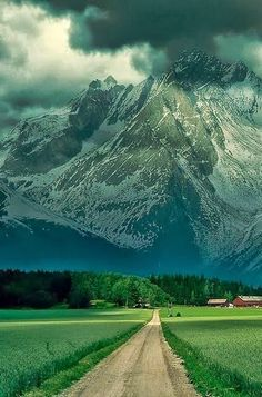 Alps, France. I wonder who lives in that house...