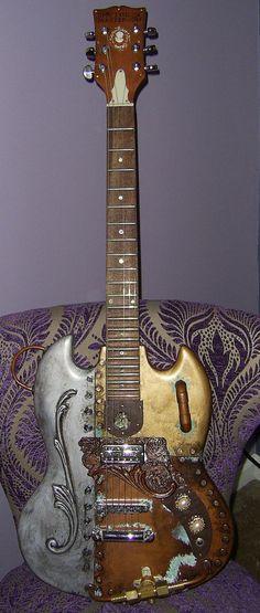 steampunk guitar - Google 検索