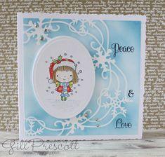 Stencils, Christmas Cards, Decorative Plates, Big Shot, Frame, Creative, Blog, Design, Crafts
