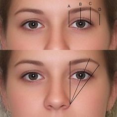 eye #makeup plucking #eyebrow