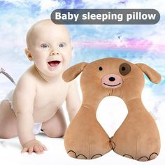 Cute Animal U Shape Travel Car Seat Cushion for Baby Care Neck Head Rest Pillow Car Seat Cushion, Seat Cushions, Pillows, Travel Car Seat, Natural Disasters, Baby Care, South America, Car Seats, Cute Animals
