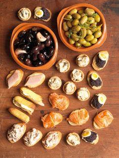 selección de aperitivos #andalusian snacks 1080 Recipes / Foto: Jason Lowe