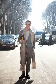 long scarf for MALE