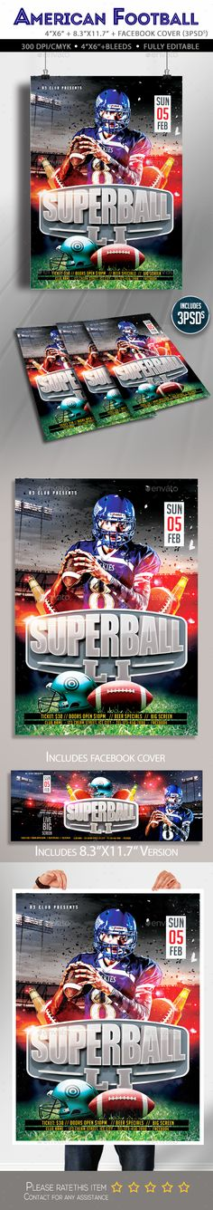 Football Camp Flyer Templates Pinterest Flyer Template And Template