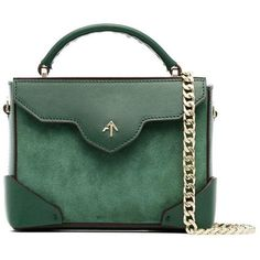 Kate s Manu Atelier Green Micro Bold Leather Top Handle Bag (RRP  £435) ecdda1ae0637a