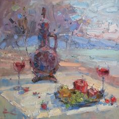 Fruits and Wine by Slava Korolenkov
