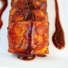Baked BBQ Tofu -