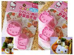 Hello Kitty veg cutters