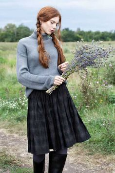 Inspiration Album: Wind in the Willows : femalefashionadvice - English Country Tweed, Countryside Fashion, Scottish Fashion, Scottish Women, Scottish Outfit, Scottish Skirt, Scottish Clothing, Irish Fashion, Style Anglais