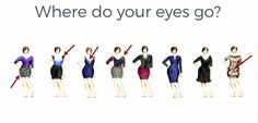 Control where you want eyes to go determined by what you wear using prints, blocks of color and necklines. Picture Day Outfits, Outfit Of The Day, To Go, Neckline, Eyes, Prints, Movies, Pictures, Movie Posters