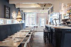 Restaurant De Wandelaar, Haarlem door IJzersterk Interieurontwerp.