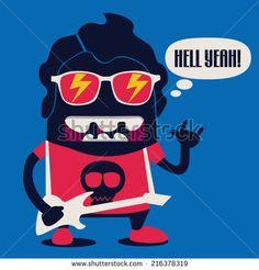 http://www.shutterstock.com/tr/pic-216378319/stock-vector-rockstar-monster.html?src=xcpeU8I1VPDbuq7YDsIFVQ-1-9&ws=0