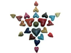 Polymer Clay Tutorial How To Make Hollow Polymer Clay Heart Beads Using Nothing But Polymer Clay by Hollowlogy
