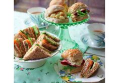 Clodagh McKenna's Recipes | CLASSIC AFTERNOON TEA SANDWICHES