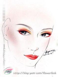 紙妝設計/優雅仕女 (進階初級課程)