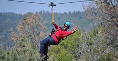 Yosemite Zipline and Adventure Ranch. Zip through oak groves and enjoy great views of the Sierra Foothills.  http://yosemiteziptours.com/
