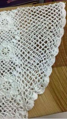 How to Crochet a Bodycon Dress/Top Crochet Tunic, Crochet Clothes, Crochet Lace, Crochet Stitches, Crochet Girls, Love Crochet, Beautiful Crochet, Double Crochet, Tejidos
