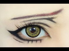 Tutorial : Anime Eye Makeup 76 • Grell Sutcliff (+playlist)