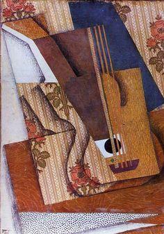 The Guitar by Juan Gris #art