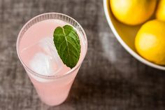 Sparkling Rhubarb Lemonade, a recipe on Food52