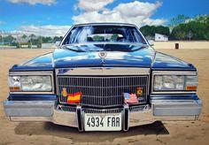 Cadillac Brougham 100x70 oleo sobre tabla (Abr.2013)