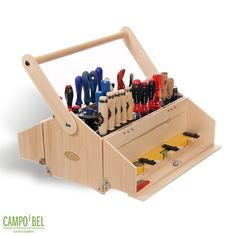 tool case Your Teen: Tips On Successfully Fitting In Most teens feel Wood Tool Box, Wooden Tool Boxes, Wood Tools, Shop Storage, Shop Organization, Storage Ideas, Tool Tote, Carpentry Tools, Wood Projects